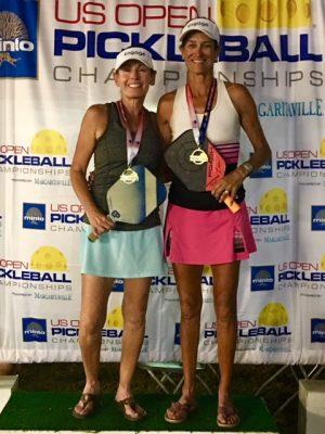 Gigi LeMaster & Lisa Naumu, US Open 45+ 2018
