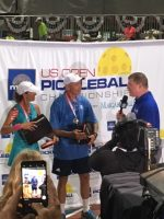 Media Coverage after a win at the US Open 2018, Lisa Naumu, Scott Moore, Pickleball Events